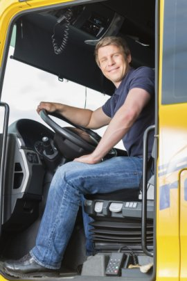 CE Truck Driver in Cab