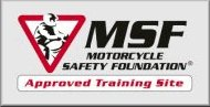 Motorcycle Safety Foundation Approved Training Site Logo