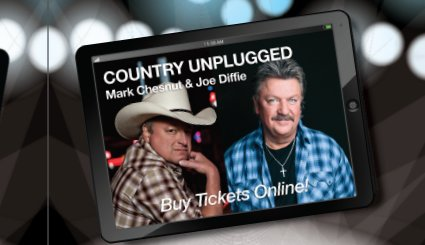 Country Unplugged Mark Chestnut and Joe Diffie