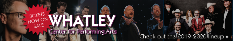 Whatley Tickets on Sale Now 2019-2020 Season
