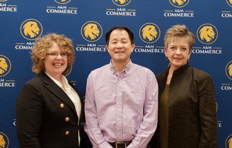 Am Commerce Campus Map.Dr Paula Wilhite Attends A M Commerce Mathematics Advisory Council