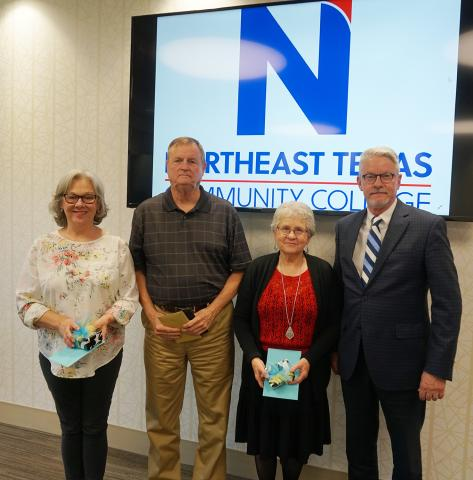 Retirees Students Honored At April Board Meeting
