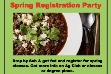 ag club flyer