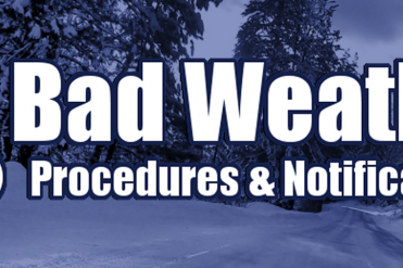 bad weather procedure banner