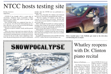 Screenshot of the eagle front page