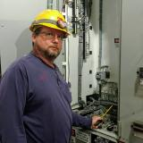 Jody Edwards, NTCC Industrial Technology graduate, now working for AEP SWEPCO