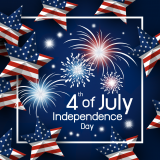 4th of july graphic